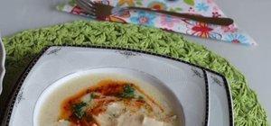 Buğdaylı tavuk çorbası nasıl yapılır? İşte, buğdaylı tavuk çorbası tarifi...