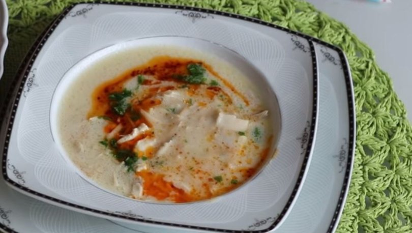 Buğdaylı tavuk çorbası