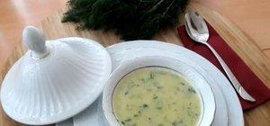Dereotlu kabak çorbası nasıl yapılır? İşte, yapılışı kolay dereotlu kabak çorbası tarifi...