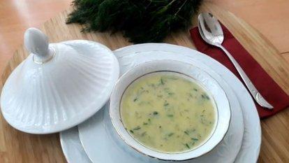 Dereotlu kabak çorbası