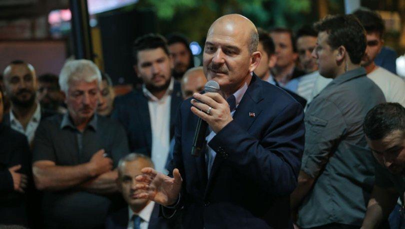 İçişleri Bakanı Süleyman Soylu:Bir haksızlık var ona karşı çıkıyoruz