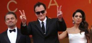 Tarantino Cannes'da ayakta alkışlandı