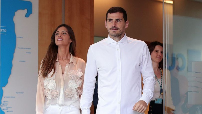 Önce Casillas şimdi de eşi!