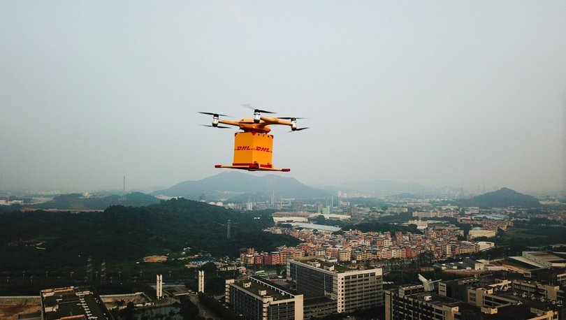 drone kargo