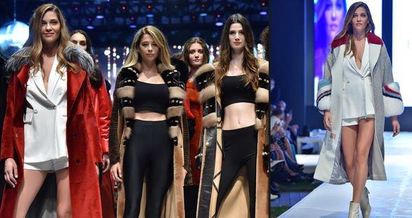 Victoria's Secret modeli Antalya'da...