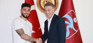 Trabzonspor'da imza!