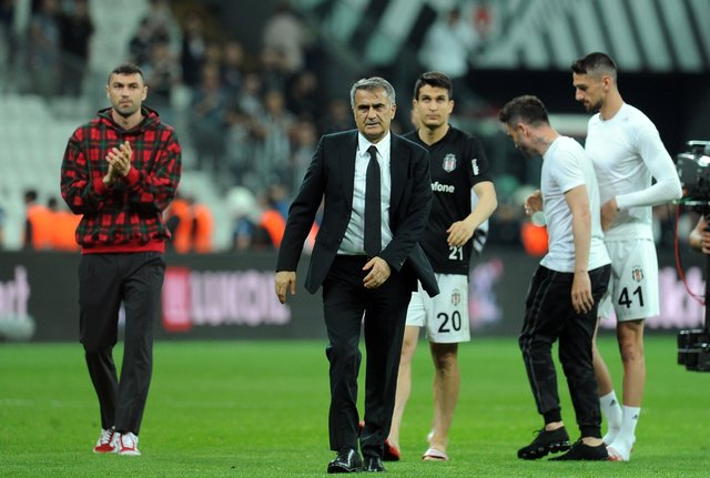 Şenol Güneş'e duygusal veda! Beşiktaş'ta Şenol Güneş dönemi sona erdi!