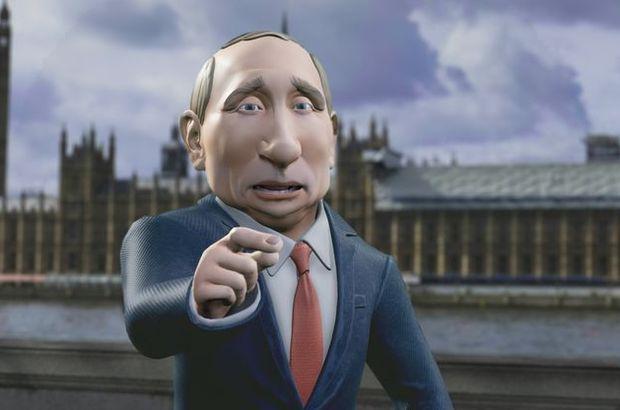 İngiltere Putin'i sunucu yapacak!