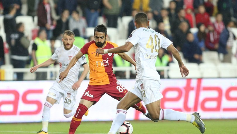 Sivasspor - Galatasaray maçı