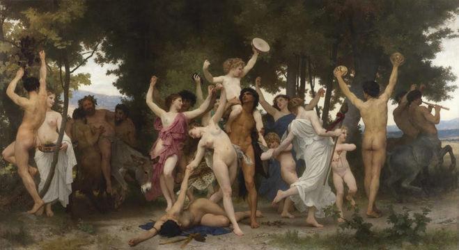 William Bouguereau 'La Jeunesse de Bacchus'