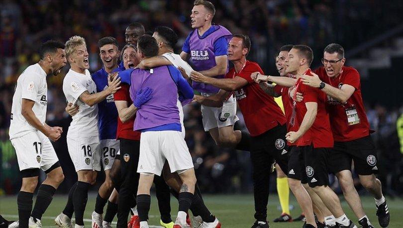 Barcelona: 1 - Valencia: 2 | MAÇ SONUCU