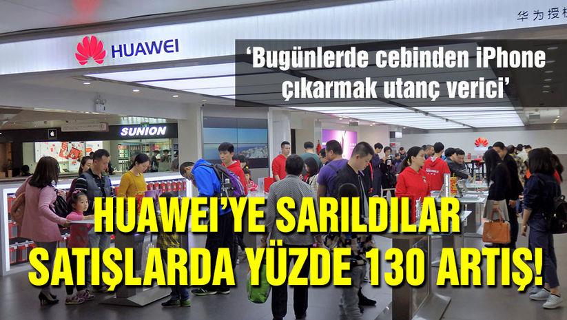 Çinliler Huaweiye sahip çıktı