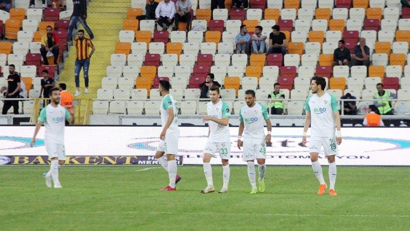 Yeni Malatyaspor - Bursaspor