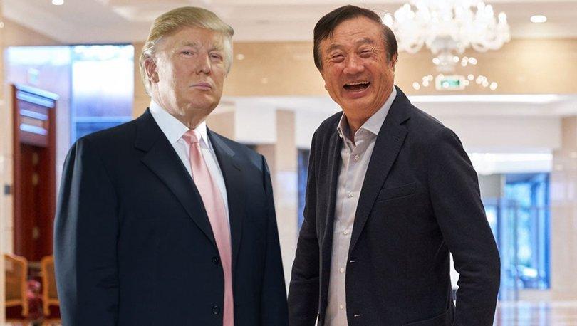 Ren Zhengfei - Donald Trump