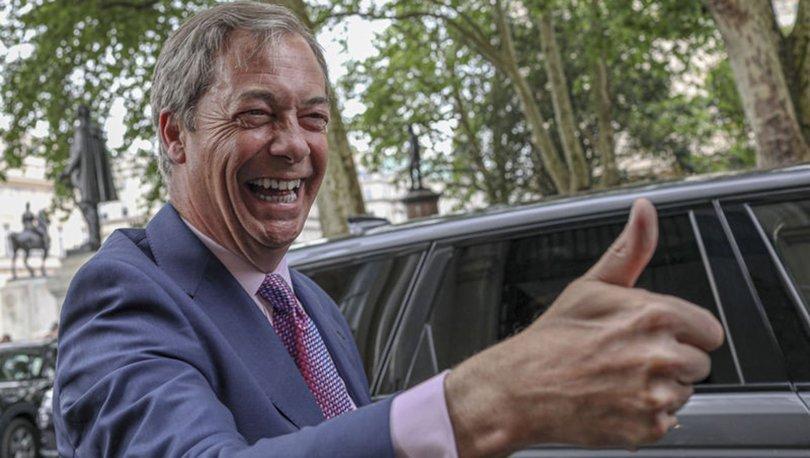 İngiltere'de zafer Birexit Partisi'nin