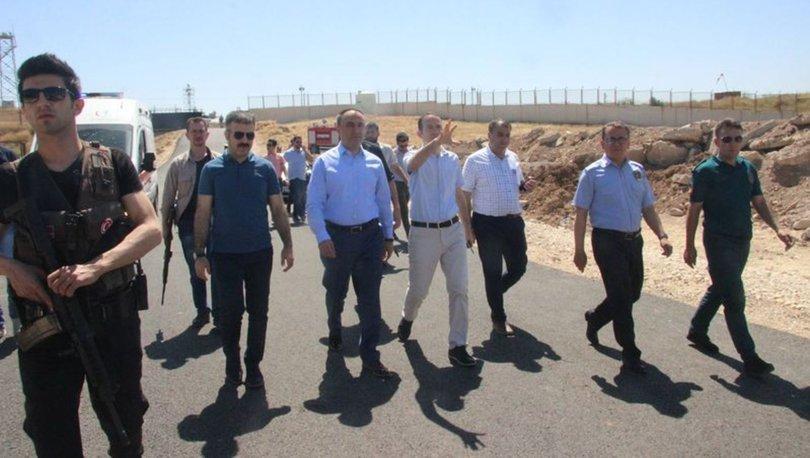 Kilis Valisi Recep Soytürk, Suriye'de açılışlara katıldı