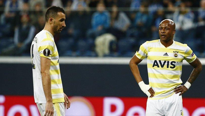 Andre Ayew, Fenerbahçe'ye veda etti!