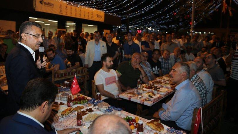 Fuat Oktay: Türkiye'ye karşı bir tehdit söz konusuysa sınır tanımayız