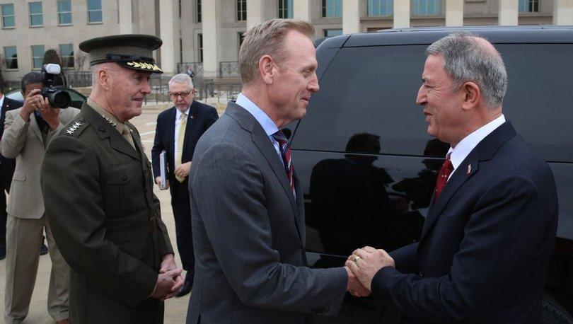 Son dakika... Akar, ABD Savunma Bakan Vekili ile görüştü