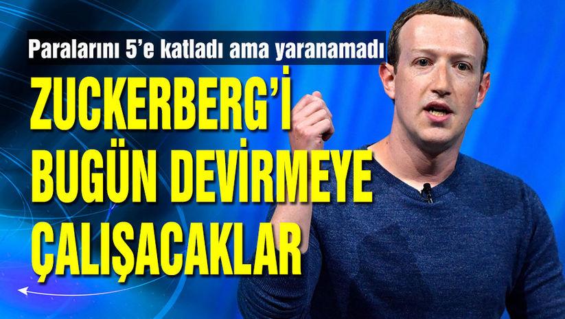 Zuckerberg'i devirmek istiyorlar