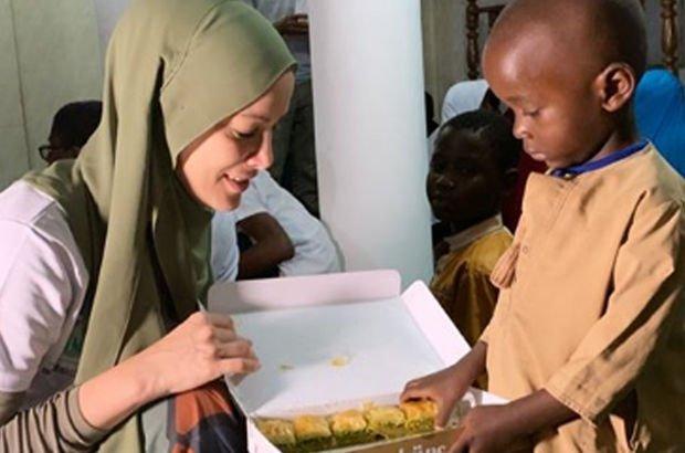 """""""Tanzanya'da kankamla baklava yiyorum"""""""