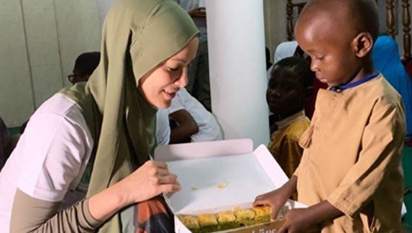Gamze Özçelik, Tanzanya, Umuda Koşanlar