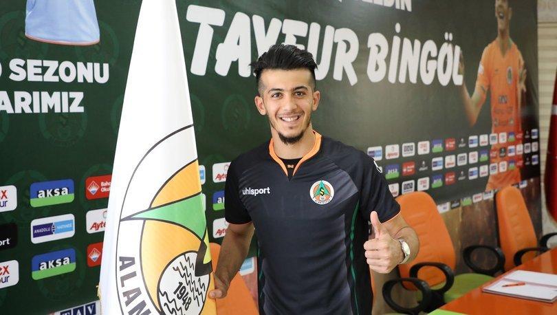 Alanyaspor, Tayfur Bingöl'ü transfer etti