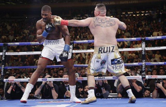 Andy Ruiz - Anthony Joshua maçında büyük sürpriz