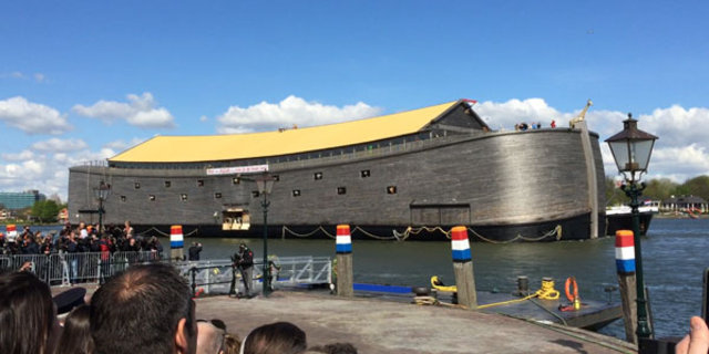 1.6 milyon dolara Nuh'un Gemisi'ni inşa ettirmişti! Yeni planı şoke etti