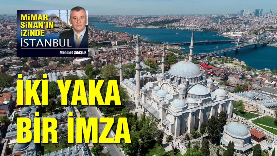 Beşiktaş'tan Üsküdar'a Sinan'ın izinde