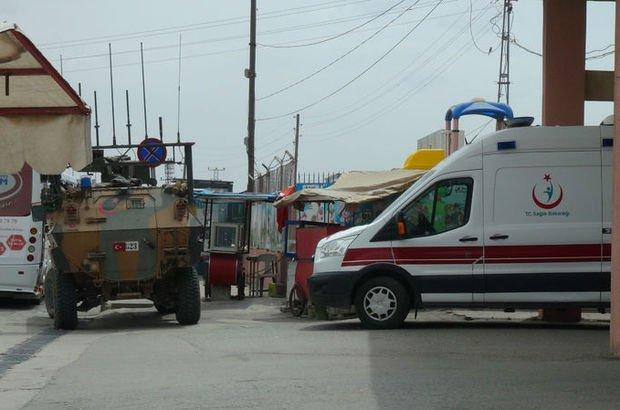 Azez'de üsse saldırı! 1 asker şehit, 4 asker yaralı