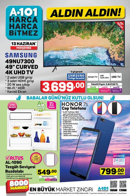 A101 13 Haziran 2019 Aktüel ürünleri yarın satışta! A101'de yarın hangi kategoride ki ürünler satışa çıkacak?
