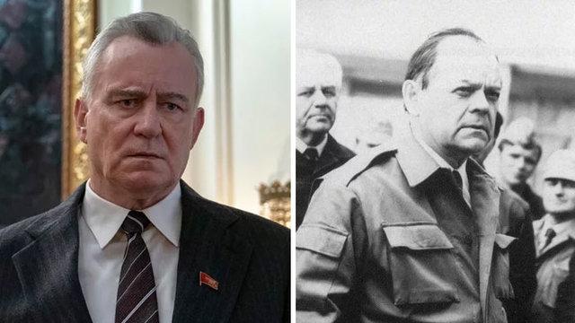 Çernobil dizisindeki karakterlerin gerçek halleri