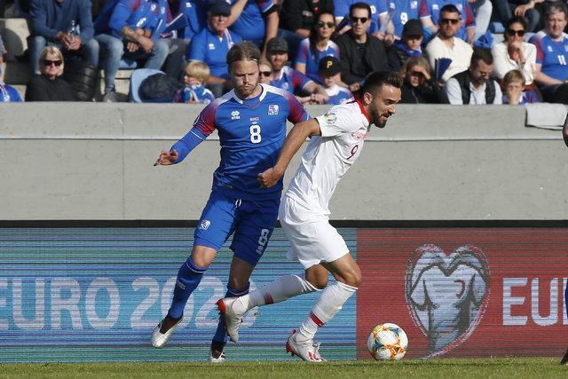 """İzlandalı futbolcular, Türkiye maçını değerlendirdi: """"Çok tehdit aldık, ekstra mutluyuz"""""""