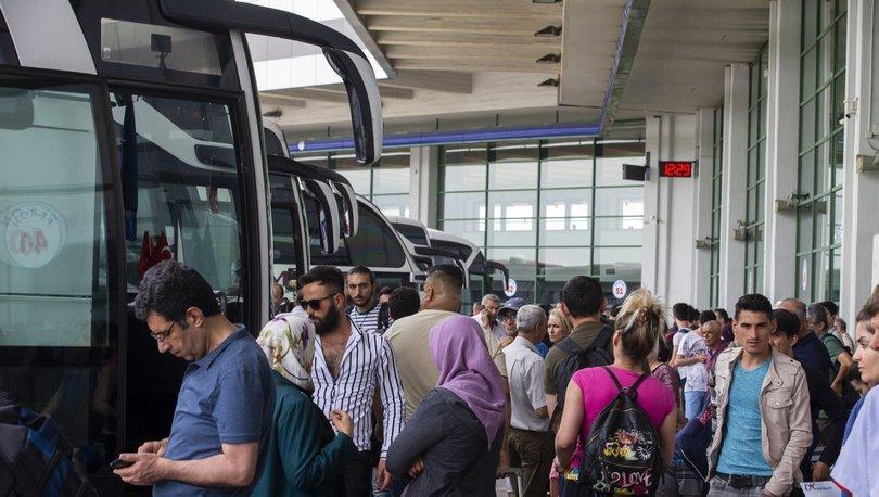 bayram tatili yolcu sayısı