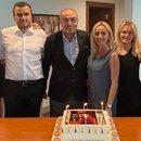 Albayrak'a doğum günü kutlaması...