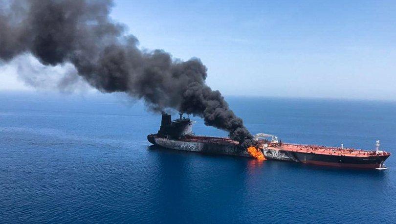 İki tanker saldırıya uğradı, dünyanın gözü Umman Körfezi'ne çevrildi
