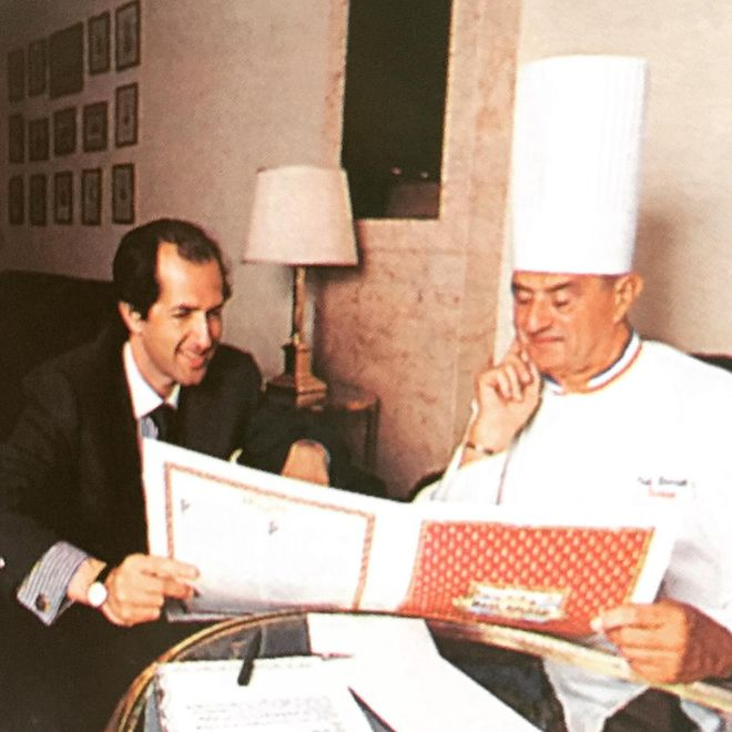 Bocuse, en iyi Fransız lokantasını tavsiyşe ediyor.