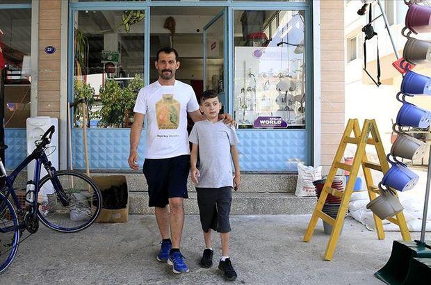 Oğlu için her gün kilometrelerce koşuyor!