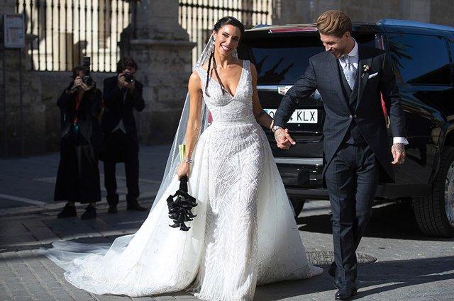 Sergio Ramos'un düğününden kareler!