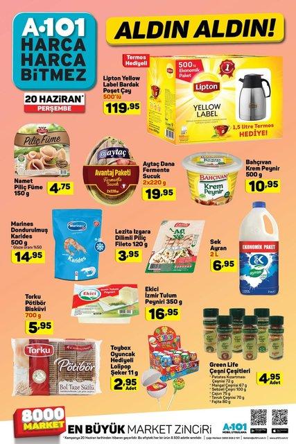 A101 20 Haziran 2019 aktüel ürünleri katalogda! Perşembe A101'de hangi ürünler indirimli olacak?