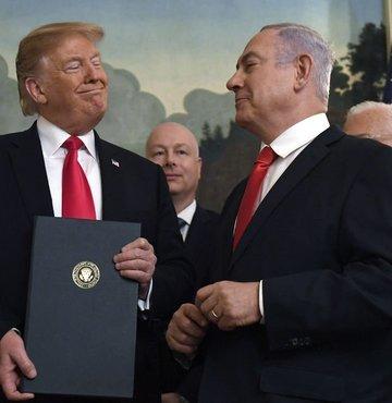 Golan Tepeleri'nde Trump hamlesi!