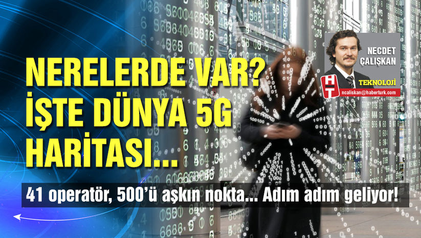 5G nerelerde var?