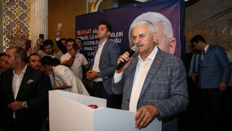 AK Parti İBB adayı Binali Yıldırım'dan açıklamalar
