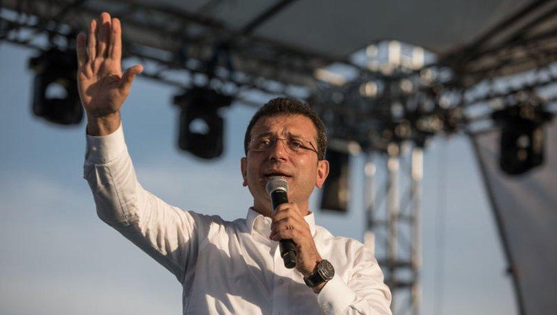 CHP İstanbul Büyükşehir Belediye Başkan Adayı Ekrem İmamoğlu'ndan açıklamalar