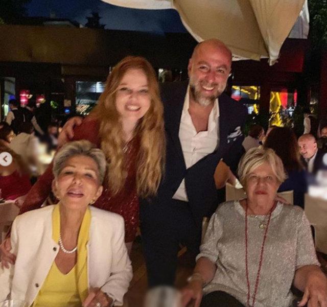 Naz Elmas ile Erol Özmandıracı ailelerini tanıştırdı - Magazin haberleri