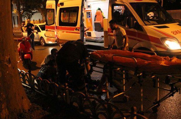 Beşiktaş'ta motosiklet kazası: 2 yaralı