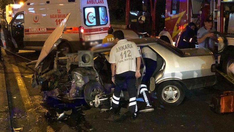 TBMM önünde trafik kazası: 1 yaralı