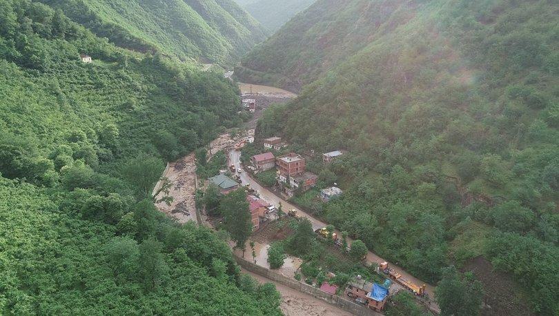 Trabzon'da sel: 2 kayıp, 1 yaralı