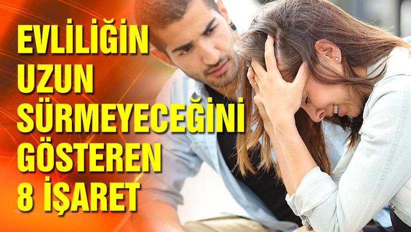 Evliliğin uzun sürmeyeceğini gösteren 8 işaret!